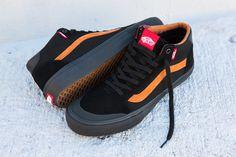 Vans - Dakota Roche 112 Style Mid Pro Shoe Details: http://bmxunion.com/daily/vans-dakota-roche-style-112-pro-mid/ #Vans #shoes #fashion #style #orange #black #bmx #bicycle #stylish #shoe