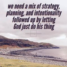 We need a mix of strategy planning and intentionality followed up by letting God just do his thing.  __ We have to be more strategic and more intentional than any generation ever before if we plan to keep reaching people for Christ. However when you have a plan and God shows up miracles happen! __ To read the full post and for more kingdom building church growing people leading tips check out our website! (Link in Bio!) __ #everythingchurch #leadership #pastors #church #ministry #podcast…