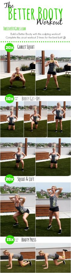 The Better Booty Workout!