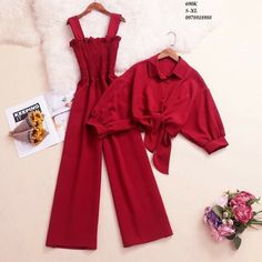 Red And Blue, Spring Fashion, Cape, Jumpsuit, Spring Style, Luxury, Summer, Clothes, Collection