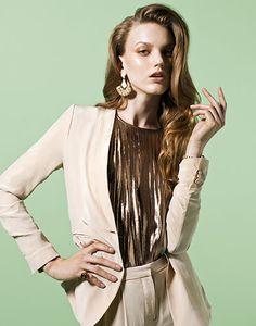 Fashion: Gold: Fashion: Gold [ Merryrichardsjewelers.com ] #gold #design #jewel