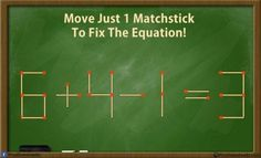 Solve these 5 difficult Matchstick Puzzles Riddles (with answer) | Brain Teasers | Pics Story