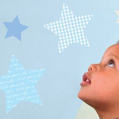 Wish Upon a Star Nursery Wall Stickers