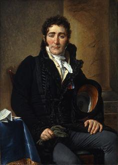 Jacques-Louis David, Portrait of the Comte de Turenne | Glyptoteket