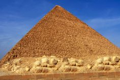 The world's oldest harbor complex was built during the reign of Pharaoh Khufu, whose burial chamber is the Great Pyramid of Giza.
