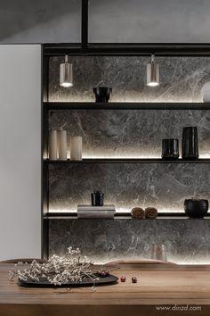 Shelving Design, Shelf Design, Küchen Design, House Design, Office Cabinet Design, Home Interior Design, Interior Architecture, Living Tv, Joinery Details