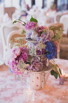 чашечки посуда цветы свадьба