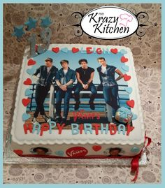 The Vamps cake #thevamps #cake I want this for my birthday
