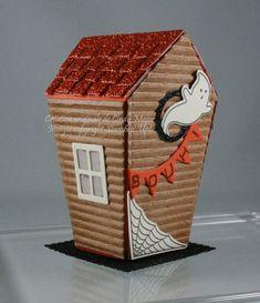 Halloween Mansion by cindy_canada - Cards and Paper Crafts at Splitcoaststampers