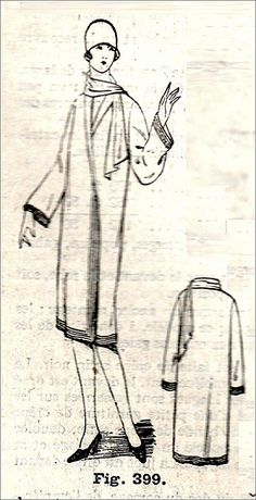 1928 Coat pattern