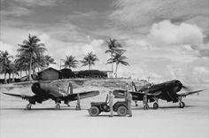 VMF-122, Peleliu, 1943