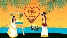 Wedding Invitation Video, Indian Wedding Invitations, Save The Date Invitations, Beautiful Wedding Invitations, Wedding Illustration, Wedding Videos, Wedding Website, Wedding Cards, Love Story