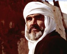 "Sean Connery as Mulai Ahmed er Raisuli in ""The Wind and the Lion"" (1975)"