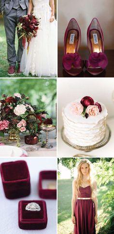A Marsala é a cor de 2015, e por isso selecionamos o que há de mais trend em decoração de casamento usando essa cor intensa e sofisticada. Inspire-se!