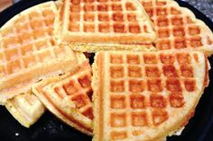 Once They Have Flown the Nest: Waffle Iron Cornbread