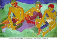 andre derain, The Bathers (1906)