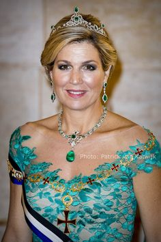 ♥•✿•QueenMaxima•✿•♥... 10-October-2017 attends banquet on Tuesday night in Lisbon's Palace of Ajuda