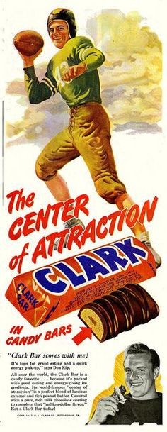 vintage clark bar bar ads - Google Search