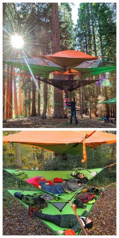 Meet Tentsile, a new form of extreme camping: These colorful tents that hang from trees are like a treehouse and a tent, all rolled into one.