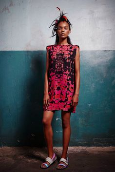 African Prints in Fashion: The Future is still Print: L.A.M.B.'s Spring/Summer collection