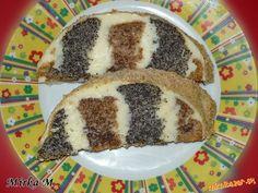 Makovo orechový metrový koláč s tvarohovou plnkou