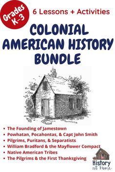 School Resources, Teacher Resources, Early American, Native American, Mayflower Compact, William Bradford, American History Lessons, Social Studies Activities, Colonial America