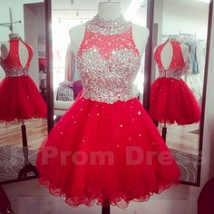 Short Prom Dress Sexy Prom Gown Lace Evening Dress Homecoming Dresses Formal…