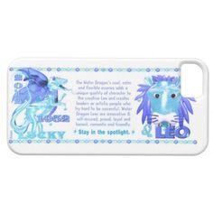 Valxart 2012 2072 1952 WaterDragon zodiac Leo iPhone 5 Cases