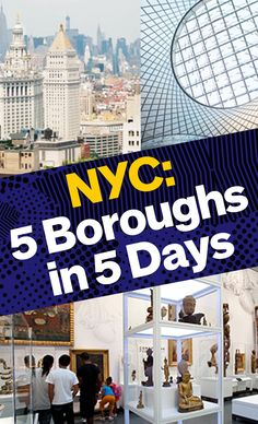 Explore the Bronx, Brooklyn, Queens, Manhattan and Staten Island in 5 days with our guide to the City's highlights. Nyc Itinerary, New York Vacation, Usa 2016, Staten Island, Concrete Jungle, Best Cities, Study Abroad, Travel Guides, New York City