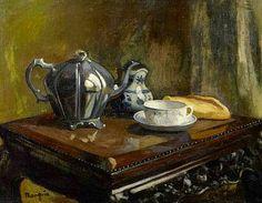 HENRI MANGUIN Tea (1900)