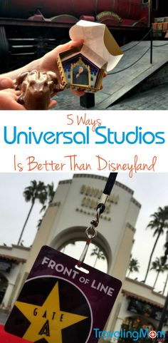Going to Southern California doesn't have to mean Disney. Universal Studios is a contender! See how Universal Studios Hollywood is better than Disneyland.