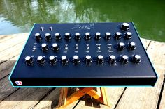 The Analog Drum Machine Expander Based on the Roland Roland Tr 808, Drum Machine, Sounds Great, Electronic Music, Drums, Music Instruments, Handmade, Studio Gear, Techno