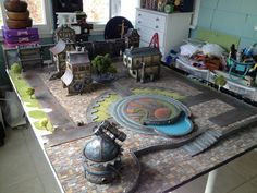 Really nice table idea. Follow link to some very nice close ups on the PP forum post