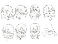 KILL LA KILL Character Sheets for IRA Gamagori