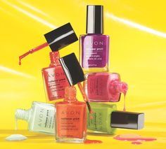 avoninsider:  Bright Sparks: Forbidden Fruits Avon's new limited editionForbidden Fruits Nailwear Pro+ Nail Enamel collection is out now in...