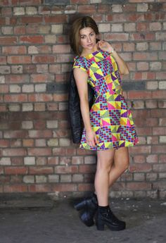 Printastic dress by The Feather Tree