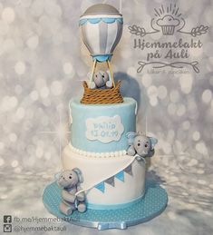 Dåpskake gutt Tarta de bautismo Frisk, Christening, Cupcakes, Leo, Baby, Pies, Pastries, Cupcake Cakes, Baby Humor