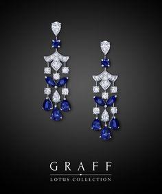 Graff Diamonds: Lotus Earrings