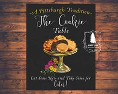 Youngstown Cookie Table Wedding Pinte