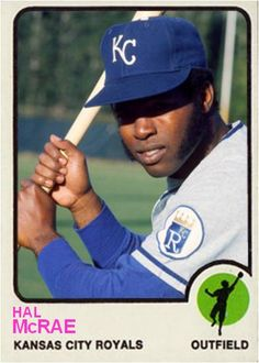 Hal McRae Kansas city Royals