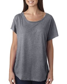 e88778357dc Next Level 6760 Ladies Triblend Dolman - Shirtmax