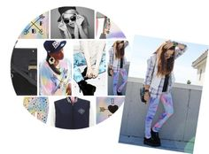 """""""TIE-DYE STATEMENT PIECES"""" by paulsboutique on Polyvore"""