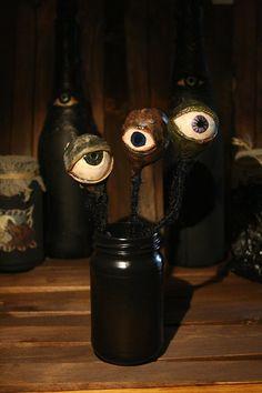 a bouquet of creepy eyes