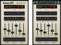 UAD Lexicon 224 Digital Reverb Plug-in