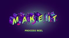 Adobe approached us to create the opening titles for their annual creative conference, Make It, which took place at Carriageworks in Sydney on May 5, 2016. The titles were played to a full house with 1400 people in attendance.  The main imagery for the event was created as an isometric illustration by Shaivalini Kumar, an artist from New Dehli, India.  We rebuilt all the elements in 3D, then rendered the scene using global illumination, a process that simulates light bouncing and colour ...