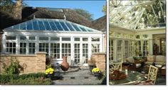 Courtyard Orangery (Park Ridge, Illinois)    by Town & Country Conservatories