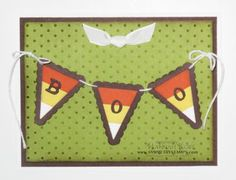 Petite Pennants Builder punch and Pennant Parade stamp set.