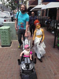 Adorable Princess Bubblegum Furiosa And Flame Princess Capable Cosplay