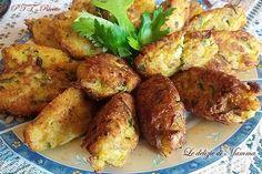 Polpette di zucchine e patate fritte Italian Cooking, Diy Food, Tandoori Chicken, Biscotti, Recipies, Brunch, Food And Drink, Potatoes, Meat