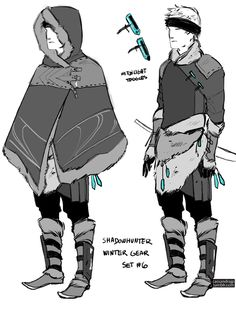 Cassandra Clare, cassandrajp:   Concept art for Shadowhunter Gear. ...